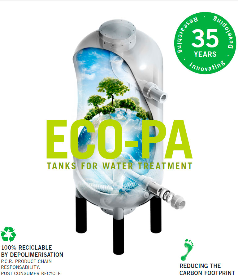 eco-pa tanks for water treatment